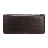 Zhhlinyuan メンズ財布 Mens Leather Id Credit Card Holder Wallet Business Style