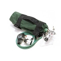 Iron Duck 34024 O2 Sleeve for Class D or Jumbo D Oxygen Tank, Nylon, Green by Iron Duck