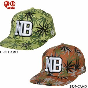 【nst-co1303sp】【NESTA BRAND】ネスタブランド2013春夏/SPRING COLLECTION CAMO HERBS SNAPBACK CAP カモハーブ【あす楽対応】