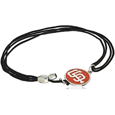 Alex and Ani Womens San Francisco Giants Kindredコードブレスレット Expandable