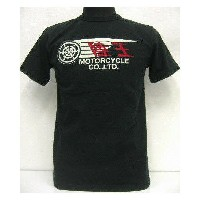【20%OFF!】陸王(Rikuo)Special Motorcycles Pt. [Short Sleeve Tee/Lot.002]【在庫処分品/返品・交換不可】 Made in Japan...