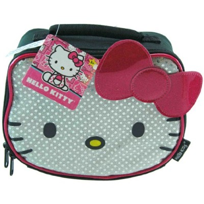 Hello Kitty ハローキティ ピンク ランチボックス Head with Pink Bow Lunch Bag