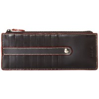 Lodis Audrey ジッパーポケット カードケース ブラック Zipper Pocket Card Case,Black,one size