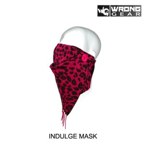WRONG GEAR ロングギア フェイスマスク INDULGE MASK PANTHER