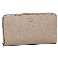 トリーバーチ 財布 レディース TORY BURCH 11169071 036 ROBINSON ZIP CONTINENTAL WALLET 長財布 FRENCH GRAY [並行輸入品]