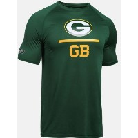 Under Armour NFL Combine Authentic Lockup Green Bay Packers T-Shirt メンズ メンズ アンダーアーマー Tシャツ アメフト...