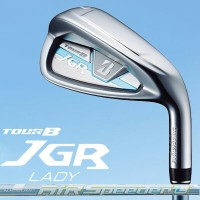 BRIDGESTONE GOLF TOUR B JGR LADY レディース 単品アイアン (#6、AW) AiR Speeder for Iron カーボンシャフト
