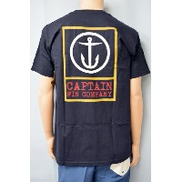 CAPTAIN FIN CO. (キャプテンフィン) S/S STANDARD TEE BOXED OUT 半袖 Tシャツ サーフィン SURFING