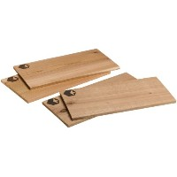 Grill Planks Value Pack - Set of Four (4) Cedar and Alder Grilling Planks by Camerons Products