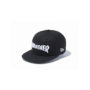 (ニューエラ) NEWERA KIDS キャップ Youth 9FIFTY THRASHER LOGO BLACK 11474451 BLKSWT