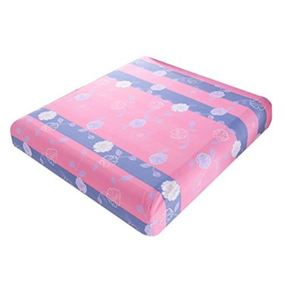 Zhhlaixing 布団カバー Floral print Single Queen King Size Bed Fitted Sheet Polyester Bed Cover Choose...