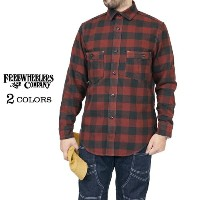 FREEWHEELERS フリーホイーラーズ SPEED TUNER 1920 - 1930s STYLE WORK SHIRT COTTON FLANNEL CHECK 2 COLORS