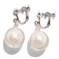 [ABISTE]アビステ 【ZSiSKA】≪FLOATING PEARLS≫アクリルデザインイヤリング 3150241 (ピンク)