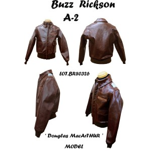 "BUZZ RICKSON'S バズリクソンズ A-2 No23380 "" ROUGH WEAR CLOTHING CO. """" DOUGLAS MACARTHER MODEL "" 2013年生産..."