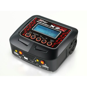 multi charger X2 100 AC/DC Dual Balance charger 〈 多機能充電器 〉 【Hitec】
