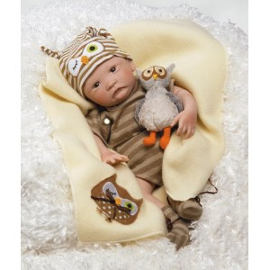 輸入パラダイスギャラリーズ赤ちゃんリアル Paradise Galleries Hoot! Hoot! Baby Doll that Looks like a Realistic Baby, 16...