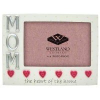Mom 4x6 Photo Frame - Heart of the Home by All About Mom [並行輸入品]