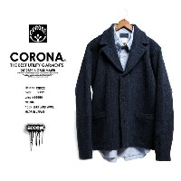 【50%OFF】CORONA/CN022 SMART CARDIGAN JACKET NAVY コロナ Y