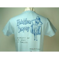 "Buzz Rickson's (バズリクソンズ)GIL ELVGREN COLLECTION""HULA MOON COMPANY""HICKAM FIELD, TH S/S T-SHIRTS"