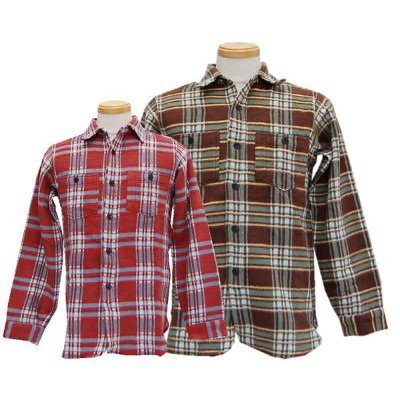 WAREHOUSE ウエアハウス 長袖シャツ 【DUCKDIGGER】 Double Weight Cloth Flannel shirts 【smtb-k】【kb】