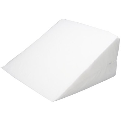 Hermell Products 12-Inch Bed Wedge with White Cover by Hermell