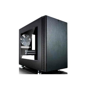 Fractal Design FD-CA-DEF-NANO-S-BK-WDefine Nano S - Black - Window version スタイリッシュなフロントデザイン...