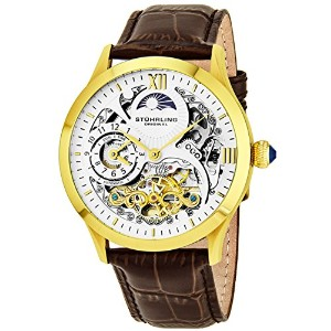 Stuhrling Original Men's 571.3335K2 Classic Winchester Tempest II Automatic Skeleton Dual Time Zone...