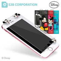 iPhone 6/S 6/S Plus 7(4.7) 7 Plus Galaxy S6 S7 Note4 Note 5 ケース DISNEY TEMPERED GLASS 2017 プレミアム ケース