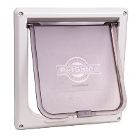 Radio Door Lockable Cat Flap Top Food and Litter Out Sight Access PetSafe Care