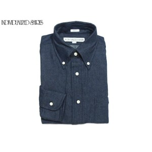 【期間限定30%OFF!】INDIVIDUALIZED SHIRTS(インディビジュアライズド シャツ)/L/S STANDARD FIT B.D. VINTAGE DENIM SHIRTS...