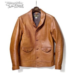 ORGUEIL オルゲイユ ハンドフィニッシュ|ステアオイルレザーコサックジャケット『Steer Oil Cossack Jacket』【アメカジ・ワーク】OR-4002B(Leather...