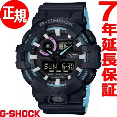 G-SHOCK Neon accent color 腕時計 メンズ GA-700PC-1AJF