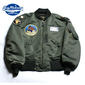 "No.BR13889 BUZZ RICKSON'S バズリクソンズ Type L-2B ""Tops Apparel Mfg.Co., Inc."" 18th TAC.RECON .SQ."