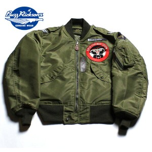 """No.BR13888 BUZZ RICKSON'S バズリクソンズType L-2 """"AMERICAN PAD & TEXTILE CO."""" 34th FIGHTER DAY SQUADRON"""