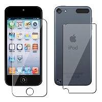 iPod touch 第5世代 フィルム 両面 2枚セット 液晶 画面 背面 保護 Apple iPod touch5 対応 自己吸着式 MY WAY SCREEN SHIELD 指紋防止 クリア