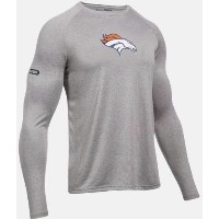Under Armour NFL Combine Authentic UA Denver Broncos Logo Long Sleeve Shirt メンズ ロンT Tシャツ アンダーアーマー...