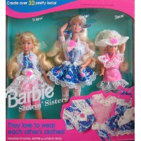 Barbie バービー ビンテージモデル 1992年 フィギュア Sharin' Sisters Gift Set: Barbie, Skipper & Stacie Dolls