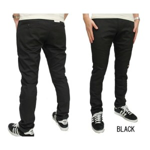 DICKIES ダブルニーワークパンツ WP811/SKINNY STRAIGHT FIT(ディッキーズ) BLACK