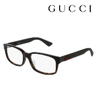 【GUCCI】 グッチ メガネ 正規販売店 アレッサンドロ・ミケーレデザイン GG0012OA 002 伊達メガネ 度付き 眼鏡 DEAL RUBBERIZED WEB FRAME Made In...