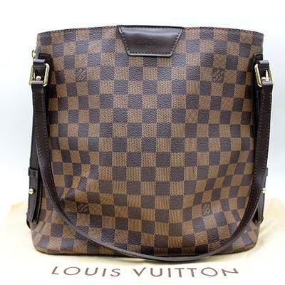 ★【LOUIS VUITTON】ルイヴィトン ダミエ カバ・リヴィントン バッグ N41108 【新古品・未使用】