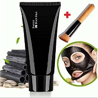 Facial Mask Black, Face Apeel Cleansing Mask Deep Cleanser Blackhead Acne Remover Peel off Mask +...