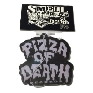 PIZZA OF DEATH(ピザオブデス) エアーフレッシュナー Ver.1(SMELL OF PIZZA OF DEATH )(KEN & FTC)