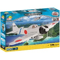 Cobi Small Army ミリタリーブロック WWII 戦闘機シリーズ 三菱 A6M 零式艦上戦闘機 Mitsubishi A6M2 Zero #5515【COBI日本正規総代理店】