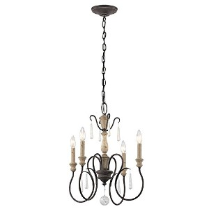 Kichler 43615WZC 4-Light Mini Chandelier by Kichler