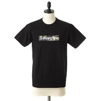 【SALE/セール】Ens Wear [エンズ ウェア] / BLACK T-SHIRT Sauvage Boa Imperial Logo(ロゴT プリント Tシャツ PARIS PIGALLE...