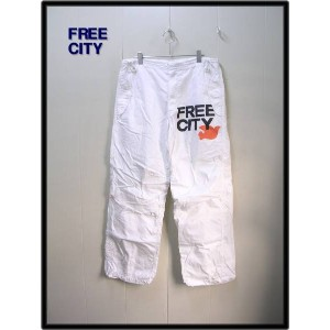 S 15th 【Ron Hermanロンハーマン FREE CITY maharishi マハリシ パンツ15th anniversary limitededition】【中古】