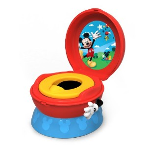 The First Years ファーストイヤーズ ディズニー ミッキーマウス トイレトレーニング 子供用便座 3-In-1 Potty System, Mickey Mouse