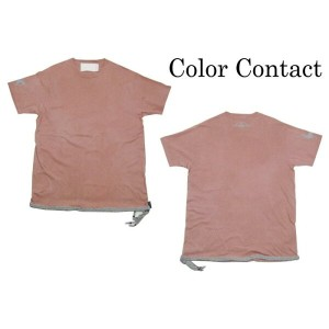 Color Contact / TAIL S/S TEE pink