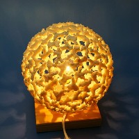 Made in Japanサンゴ礁のライト!Coral Light Sphere S Size