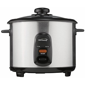 Brentwood TS-10 5-Cup Steel Rice Cooker, Stainless by Brentwood [並行輸入品]